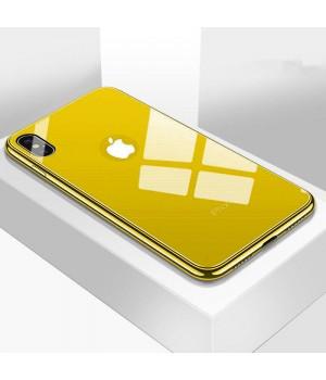 Кейси iPhone Xs Glass Case TPU