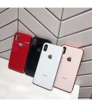 Кейси iPhone Xs Max Glass Case TPU