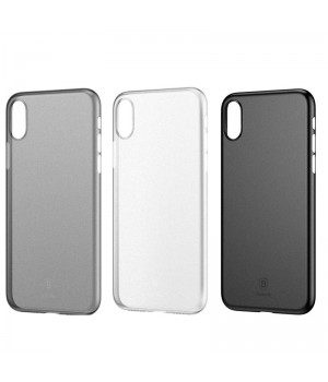 Кейси iPhone Xs Baseus Wing Case white