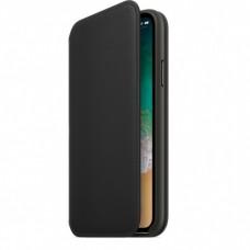 Кейси iPhone X Apple Leather Folio