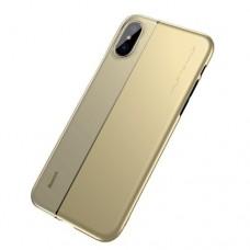 Кейси iPhone X Baseus Half to Half Case