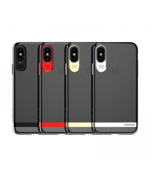 Кейси iPhone X Usams Q-Plating Series