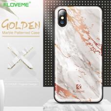 Кейси iPhone X Floveme Luxury Marble