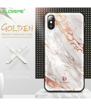Кейси iPhone X Floveme Luxury Marble