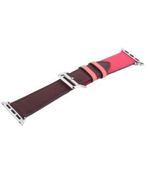Аксесуари iWatch Ремінець COTEetCi Leather Strap 38/40mm (W36-BRR)