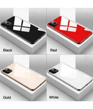Кейси iPhone 11 Pro Max Glass Case ColorFull