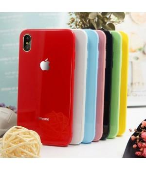 Кейси iPhone XS Max Glass Case Rainbow