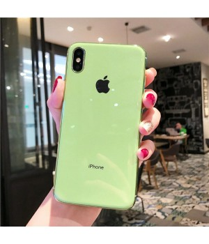 Кейси iPhone 6/6S Glass Case TPU