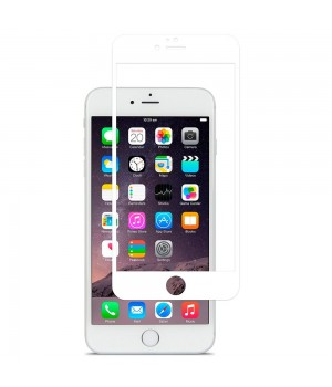 Скло iPhone 7Plus/8Plus ZK 2.5D Full Silk Screen 0.26mm