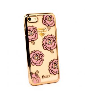 Кейси iPhone 7/8 Квіти з Камінням