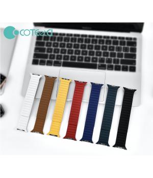 Аксесуари iWatch Ремінець COTEetCi Leather Dual Magnetic Watch Band 40/38mm