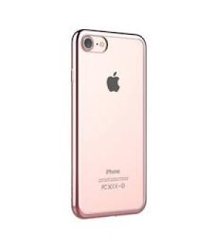 Кейси iPhone 7/8  Силікон з Блискучим Обідком
