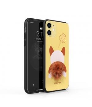 Кейси iPhone XR Fluffy animal