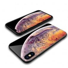 Кейси iPhone XS Glass Case Planet