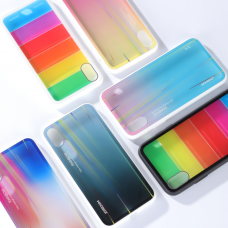Кейси iPhone XS Max Joyroom Rainbow Glass Series