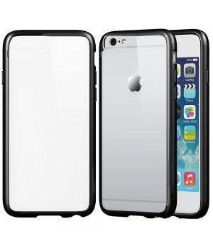 Кейси iPhone 6plus/6Splus Сіликон з Блискучим Обідком