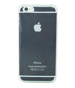 Кейси iPhone 6plus/6Splus  Силікон з Лого Блискучий