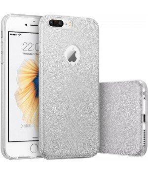 Кейси iPhone 6/6S Дешевий Силікон з Вирізом Блискучий