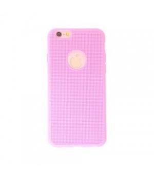 Кейси iPhone 6/6S Дешевий Силікон з Вирізом Сітка