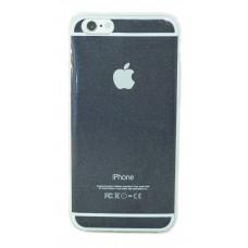 Кейси iPhone 6/6S Дешевий Силікон з Лого Глянцевий