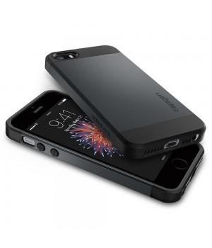 Кейси iPhone 4/4S Spigen Slim Armor чорний