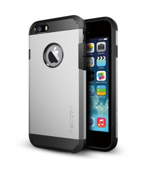 Кейси iPhone 4/4S Spigen Tough Armor Space Gray