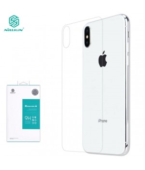 Скло iPhone X/XS/11Pro Nillkin Back Cover Glass transparent
