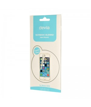 Плівка iPhone 5/5S/SE Devia Screen Protector Crystal Clear