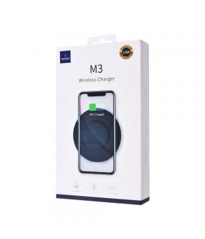 Безпровідні зарядні пристрої Wiwu M3 Wireless Charger