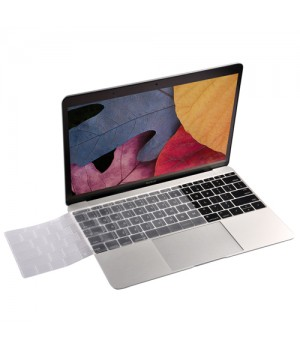 Кейси на Macbook 13.3 Devia Retina Keypad Cover Crystal