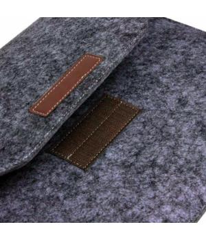Кейси на Macbook Air 11/12 Felt Bag black