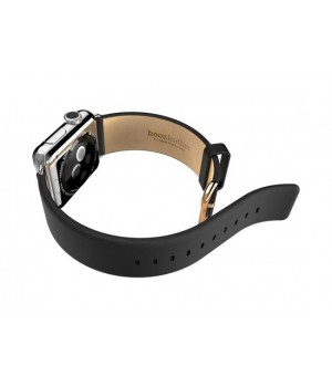 Аксесуари iWatch Ремінець Hoco Art Series Calf Leather 38/40mm black