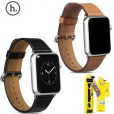 Аксесуари iWatch Ремінець Hoco Art Series Luxury Real Leather 38/40mm brown