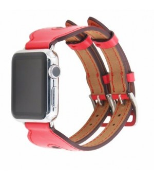Аксесуари iWatch Ремінець Hermes Fauve Barenia Single Tour 38/40mm