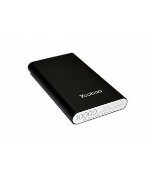 Зовнішні акумулятори Power Bank Yoobao black 10000mAh