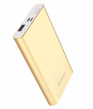 Зовнішні акумулятори Power Bank gold 10000mAh