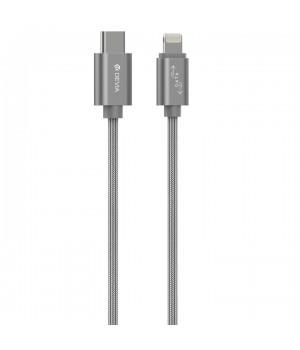 Кабелі Devia Lightning Gracious USB-C to Lightning Cable