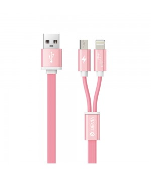 Кабелі Devia Charge Cable 2 in1