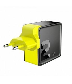 Зовнішні акумулятори Power Bank Rock Sugar Travel Charger black