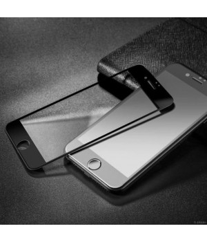 Скло iPhone 6/6S Rock 3D Full Screen Tempered Glass Screen Protector with Soft Edge black