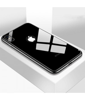 Кейси iPhone 7plus/8plus Glass Case TPU