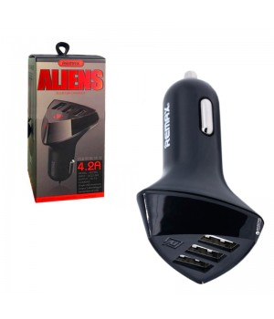 Автозарядне Remax Car Charger Aliens 3 USB