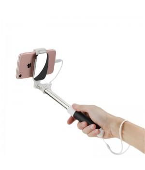 Аксесуари Селфістіки Rock Mini Selfie Stick with Wire Control & Mirror