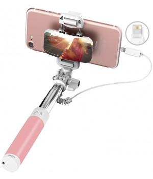 Аксесуари Селфістіки Rock Mini Selfie Stick with Lightning Control & Mirror
