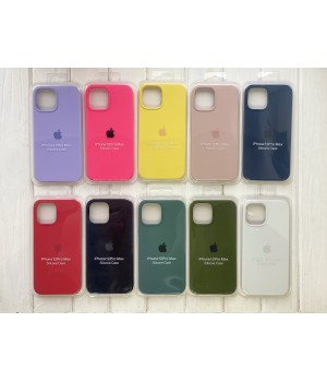 Кейси iPhone 12 Pro Max Apple Silicone Case Copy