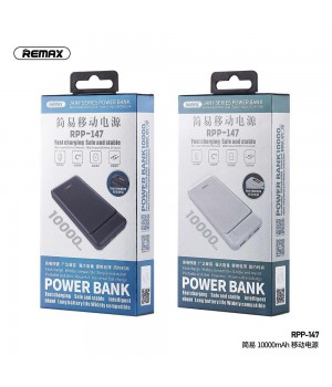 Зовнішні акумулятори Power Bank Remax 10000mAh Jany Series RPP-147