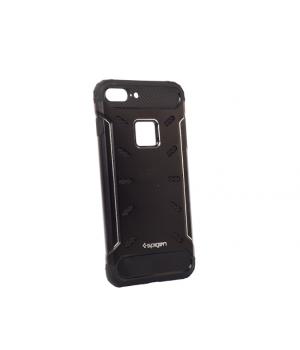 Кейси iPhone 7plus/8plus Spigen TPU Metal Case