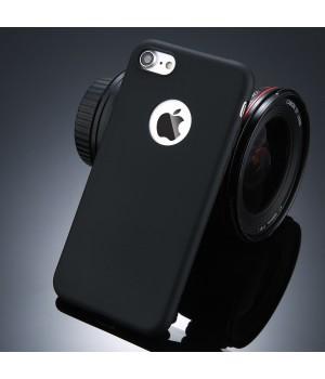 Кейси iPhone 7plus/8plus Матовий з вирізом силікон