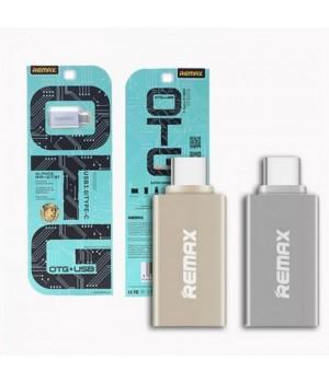 Перехідники Remax Type-C to USB Adapter