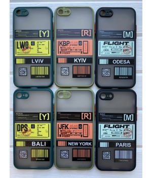 Кейси iPhone 7/8 Matte Skin Ticket series